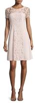 Karl Lagerfeld Floral Lace Dress