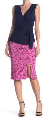 Diane von Furstenberg Willa Floral Print Pencil Skirt