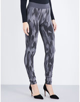 Wolford Camouflage glitter leggings