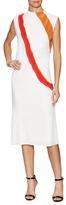 Narciso Rodriguez Printed Bias Midi Dress
