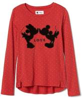 Gap GapKids | Disney Mickey Mouse and Minnie Mouse hi-lo tee