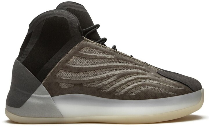 Adidas Yeezy Kids QNTM high-top sneakers