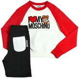 Moschino Bear Cotton Sweatshirt & Sweatpants