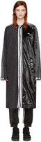 adidas Originals by Alexander Wang Black Patch Coat