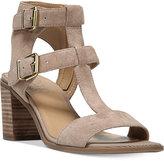 Franco Sarto Hasnia Strappy Block Heel Sandals