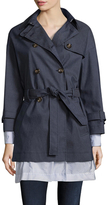 RED Valentino Trench Belted Drawstring Coat