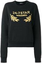 DSQUARED2 24-7 logo sweatshirt