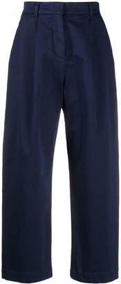 YMC Pleated Crop Trousers