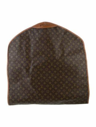 Louis Vuitton Vintage Monogram Garment Cover Brown