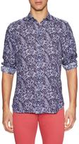 Luca Roda Floral Print Sportshirt
