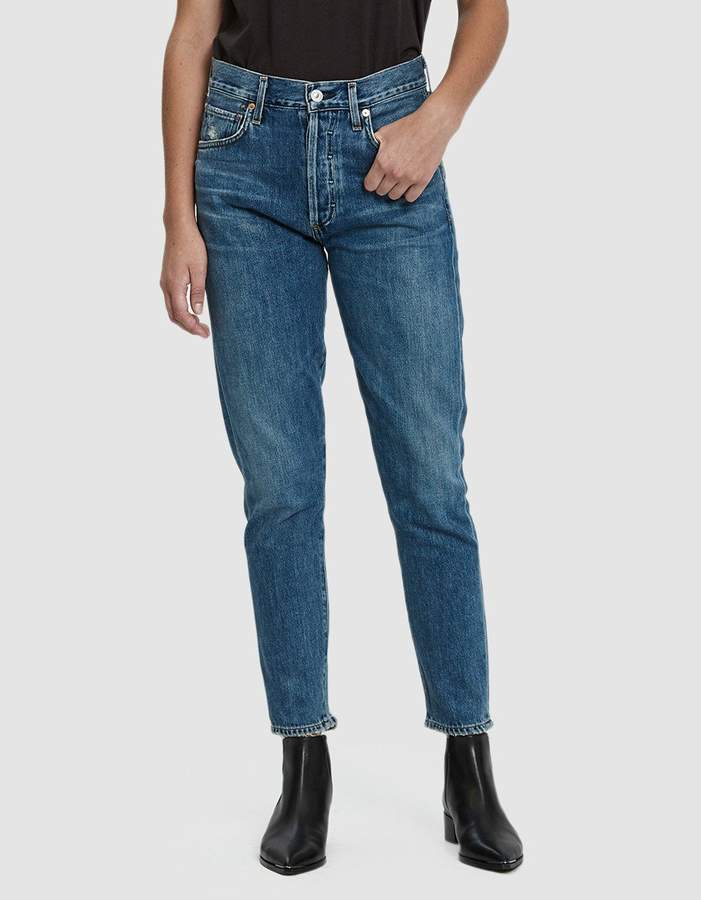 Citizens of Humanity Liya High Rise Classic Fit Jean in Forever
