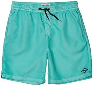 Billabong Kids All Day Layback Boardshorts (Big Kids) (Foam) Boy's Swimwear