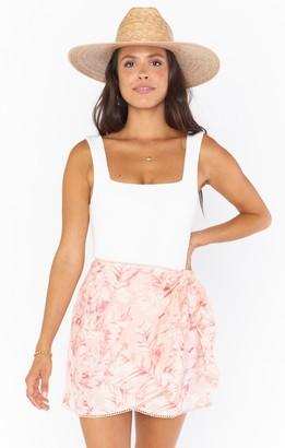 Show Me Your Mumu Iva Wrap Skirt