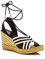 Marc Jacobs Dani Ankle Tie Espadrille Wedges