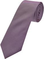Oxford Silk Tie Reg Dk Purple X