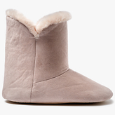 John Lewis Contemporary Faux Fur Boot Slippers, Pink