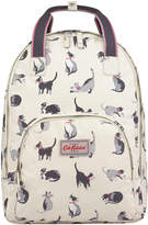 Cath Kidston Painted Cats Multi Pocket Backpack