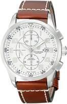 Victorinox Men's 241598 AirBoss Analog Display Swiss Automatic Brown Watch