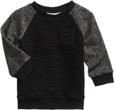 First Impressions Quilted Raglan Sweatshirt, Baby Boys (0-24 months), Created for Macy's