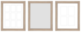 PTM Images Genevieve Gallery Wall Mirrors & Photo Collages (Set of 3)