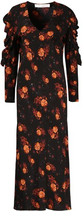 IRO Louve Floral Long Dress