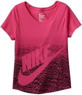 Nike Girls 7-16 Ombre Graphic Tee