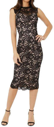 Lipsy Lace Midi Dress