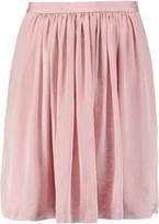 Needle & Thread Pandora pleated satin mini skirt