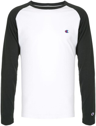 Champion two-tone logo embroidered Tee