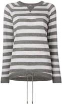 Eleventy striped pattern sweater