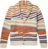 Missoni Shawl-Collar Wool Cardigan