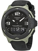 Tissot Men's T0814209705701 T-race touch Analog-Digital Display Swiss Quartz Black Watch