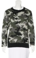 Sandro Abstract Patterned Knit Sweater