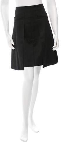 Chanel Layered Midi Skirt
