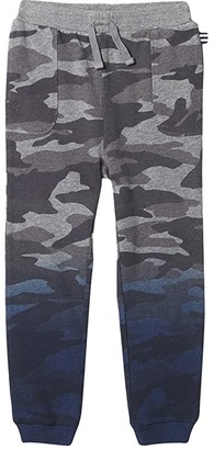 Splendid Littles Dip-Dye Camo Joggers (Toddler/Little Kids/Big Kids) (Charcoal Heather) Boy's Casual Pants