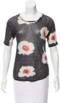 Etoile Isabel Marant Floral Linen Top