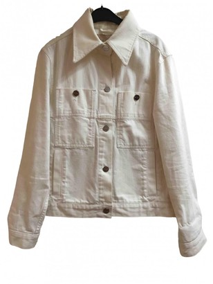 Etudes Studio White Cotton Jackets