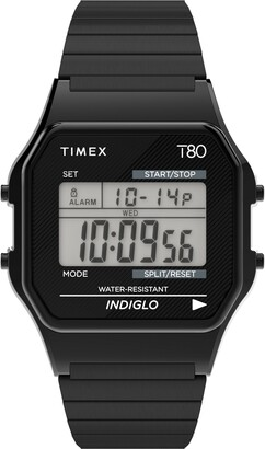 Timex T80 Digital Expansion Band Watch, 34mm
