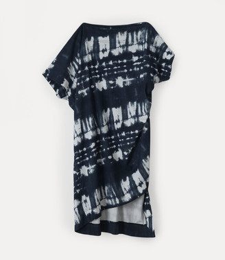 Vivienne Westwood Palm Dress Black Tie-Dye
