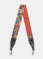 Valentino Geometric Patterned Strap in Multicolour