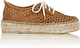 Loeffler Randall Women's Alfie Perforated Espadrilles-BROWN