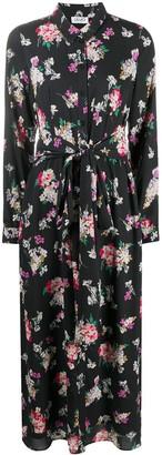Liu Jo Floral Print Midi Dress