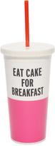 Kate Spade Eat Cake For Breakfast Tumbler