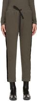 Haider Ackermann Khaki Duplessis Lounge Pants