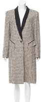 Escada Structured Tweed Coat