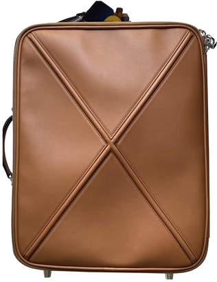 Loewe Camel Leather Bags