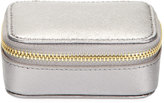 Neiman Marcus Small Leather Pill Case, Pewter