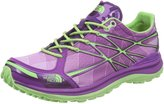 The North Face Women's Ultra Tr Ii W Byzantium Purple/Paradise Green Ankle-High Synthetic Trail Runner - 8M