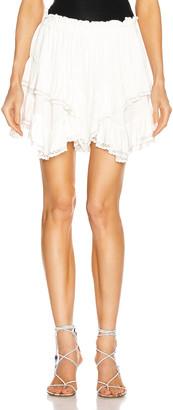 Isabel Marant Leocadia Short in White | FWRD