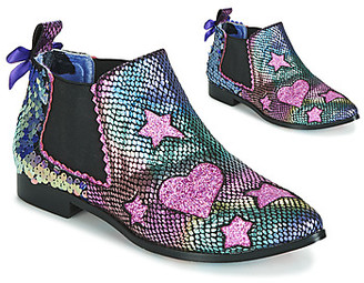 Irregular Choice STARLIGHT EMPRESS women's Low Ankle Boots in Pink